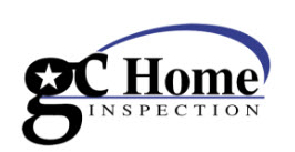 GC Home Inspection logo | thermal imaging inspection