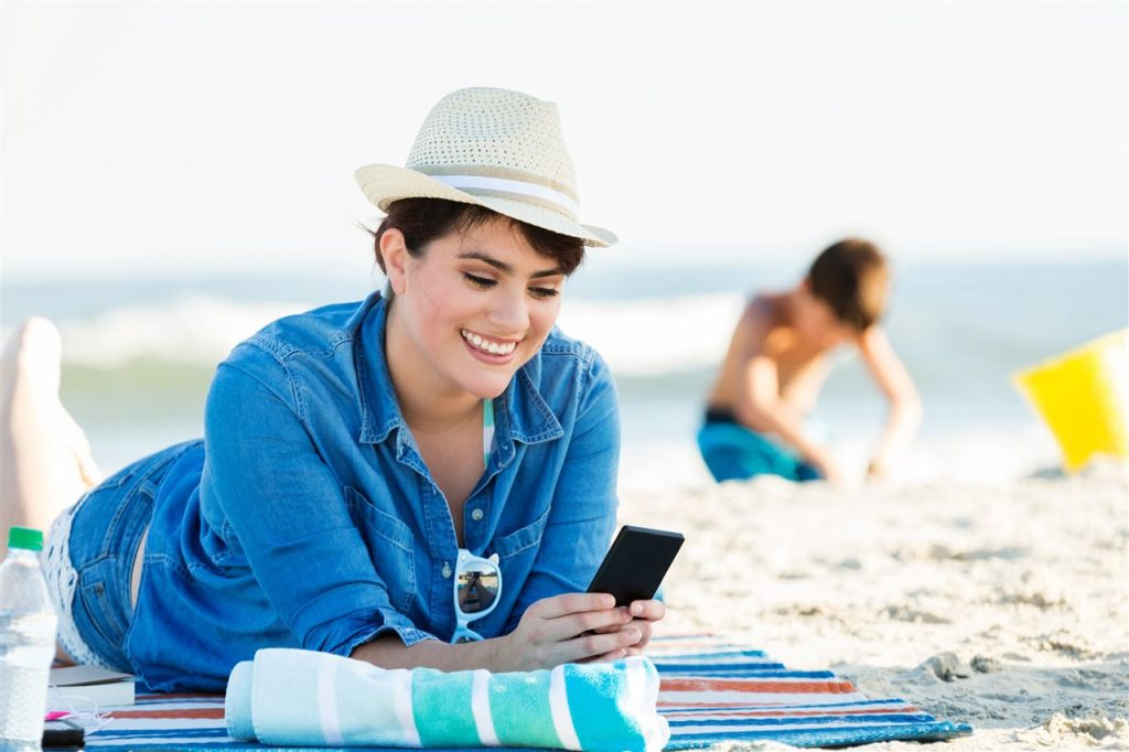 woman in summer vacation | GC Home Inspection | Summer Travel Season Pearland