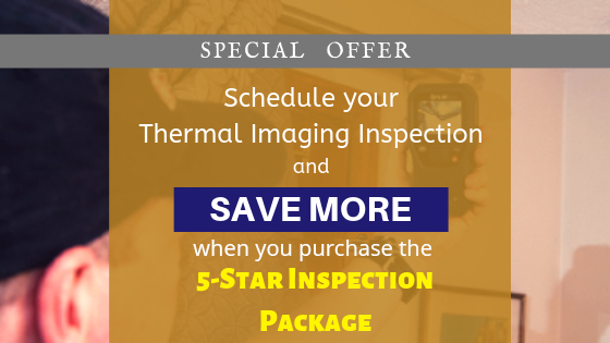 Thermal Imaging Inspection Special Promo | GC home Inspection Pearland